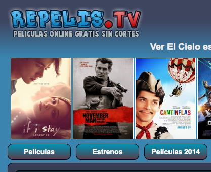 Peliculas y Series de Estreno ONLINE GRATIS – Repelis.tv