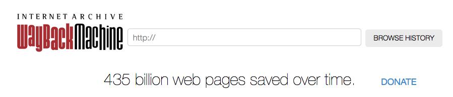 ¿Como recuperar el diseño de un sitio web del pasado? – Archive.org